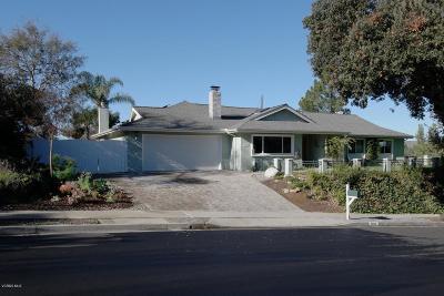 Thousand Oaks Single Family Home For Sale: 3056 Darlington Drive
