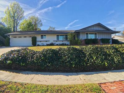 Ventura County Single Family Home For Sale: 58 Columbia Road