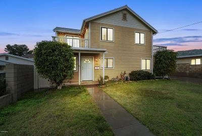 Ventura County Single Family Home For Sale: 312 North 11th Street