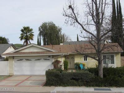 Agoura Hills Single Family Home Sold: 5600 Rock Creek Road