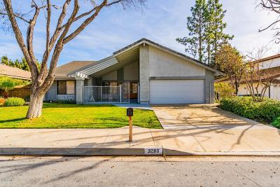 Westlake Village Single Family Home Active Under Contract: 3283 Sawtooth Court