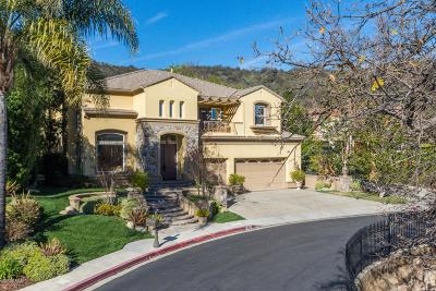 Westlake Village Single Family Home For Sale: 1609 Vista Oaks Way
