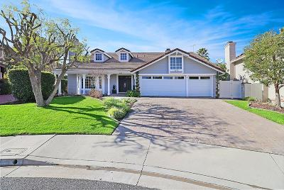 Agoura Hills Single Family Home Active Under Contract: 5709 Willowtree Drive