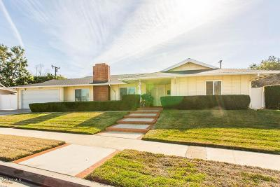Thousand Oaks Single Family Home For Sale: 20 Dombey Circle