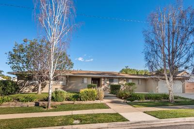 Simi Valley Single Family Home Active Under Contract: 942 El Monte Drive