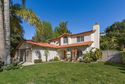 Agoura Hills Single Family Home Active Under Contract: 30649 Passageway Place