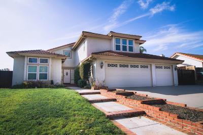 Camarillo Single Family Home Active Under Contract: 2819 Corte Caballos