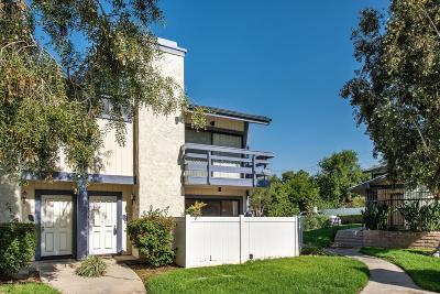 Simi Valley Condo/Townhouse Active Under Contract: 2847 Tapo Street
