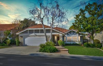 Thousand Oaks Single Family Home Active Under Contract: 3265 Baccarat Street