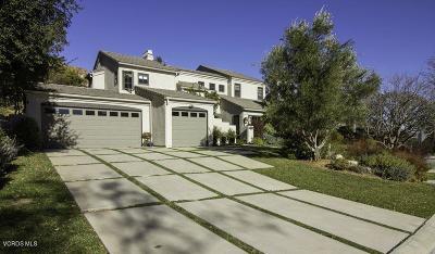 Westlake Village Single Family Home Active Under Contract: 5623 Hidden Glen Court