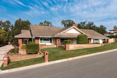 Camarillo Single Family Home For Sale: 217 Alviso Drive