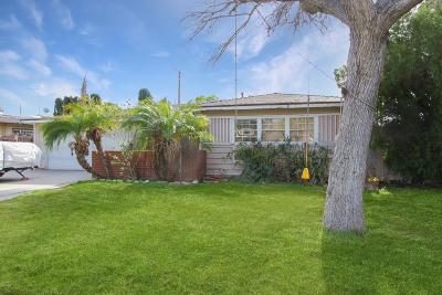 Granada Hills Single Family Home Active Under Contract: 16038 Lahey Street
