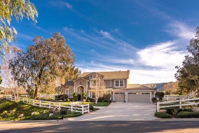 Camarillo Single Family Home Active Under Contract: 12384 Ridge Drive