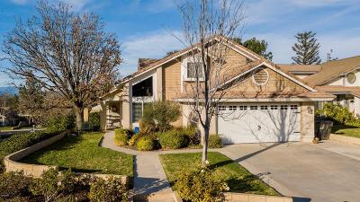 Moorpark Single Family Home Active Under Contract: 13059 View Mesa Street