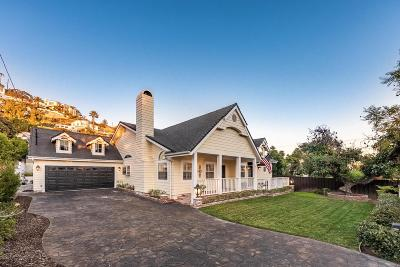 Burbank Single Family Home Active Under Contract: 202 South Sunset Canyon Drive
