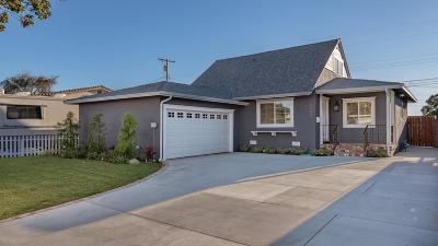 Ventura Single Family Home For Sale: 3240 Porter Lane