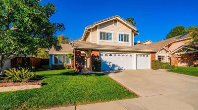 Thousand Oaks Single Family Home Active Under Contract: 2450 Rikkard Drive