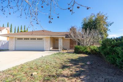 Newbury Park Single Family Home Active Under Contract: 3780 San Felipe Avenue