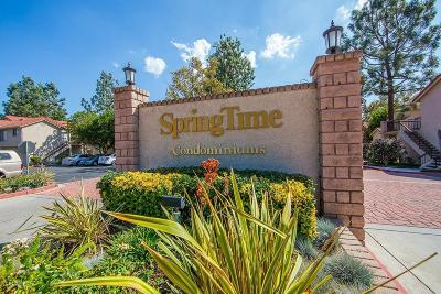 Simi Valley Condo/Townhouse Active Under Contract: 2368 Archwood Lane #25