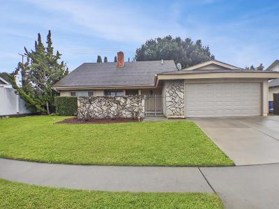 Camarillo Single Family Home For Sale: 1254 Gracia Street