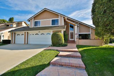 Thousand Oaks Single Family Home Active Under Contract: 696 Wildcreek Circle