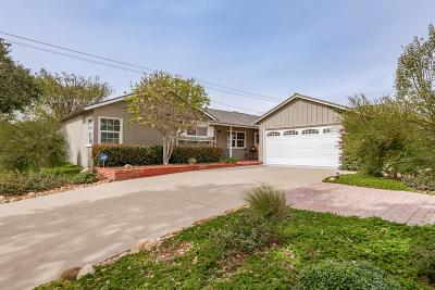 Ventura Single Family Home For Sale: 43 Madera Avenue