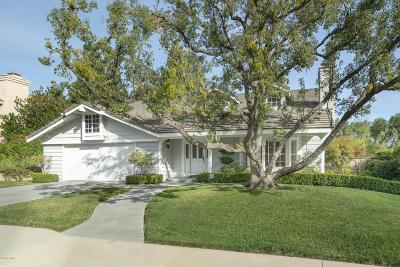 Agoura Hills Single Family Home Active Under Contract: 5730 Rista Drive