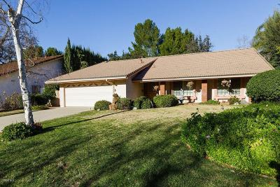 Westlake Village Single Family Home For Sale: 3054 East Sierra Drive