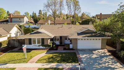 Thousand Oaks Single Family Home Active Under Contract: 62 Lucero Street