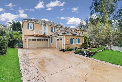 Simi Valley Single Family Home Active Under Contract: 517 Rustic Hills Drive