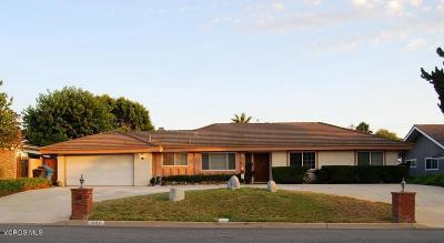 Thousand Oaks Single Family Home Active Under Contract: 1800 Berkshire Drive