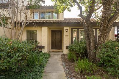 Thousand Oaks Condo/Townhouse For Sale: 1185 Monte Sereno Drive