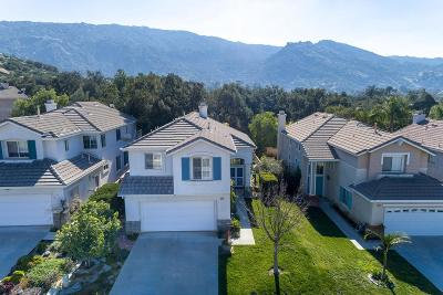 Simi Valley Single Family Home Active Under Contract: 6724 Cowboy Street
