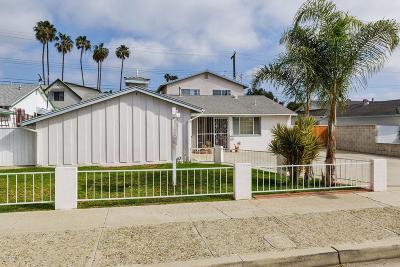 Ventura Single Family Home For Sale: 70 South Ashwood Avenue