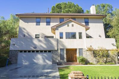 Simi Valley Single Family Home For Sale: 5832 Oak Knolls Road