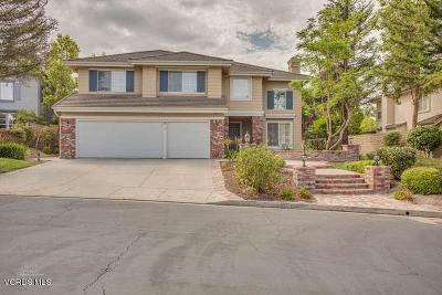 Simi Valley Single Family Home Active Under Contract: 238 Heath Meadow Court