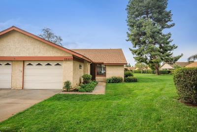 Camarillo Single Family Home Active Under Contract: 33229 Village 33