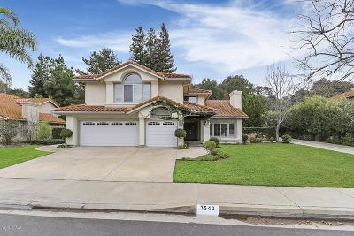 Westlake Village Single Family Home Active Under Contract: 3540 Three Springs Drive