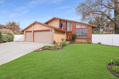 Thousand Oaks Single Family Home Active Under Contract: 356 Sundance Street