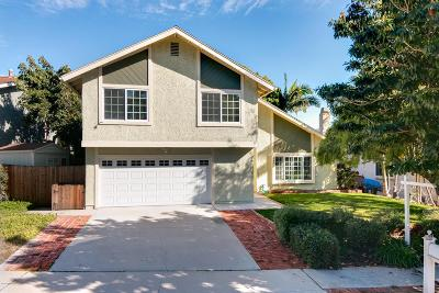 Ventura Single Family Home For Sale: 2286 Wildcat Avenue
