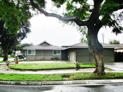 Ventura Single Family Home For Sale: 5460 Lehigh Street