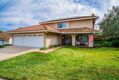 Westlake Village Single Family Home For Sale: 981 Aranmoor Avenue