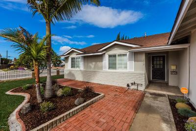 Camarillo Single Family Home Active Under Contract: 2713 Wendell Street