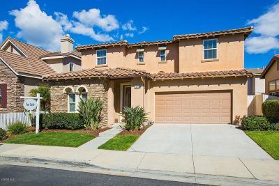Camarillo Single Family Home For Sale: 4587 Valerio Way