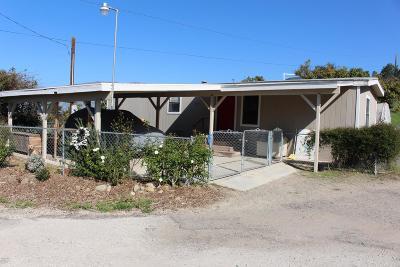 Santa Paula Single Family Home For Sale: 16828 South Mountain Road
