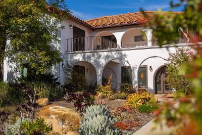 Ojai Single Family Home For Sale: 520 Del Oro Drive