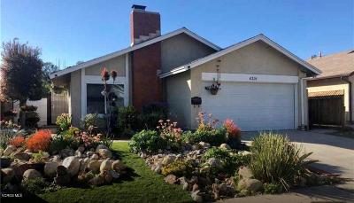 Moorpark Single Family Home Active Under Contract: 4391 Lantern Lane