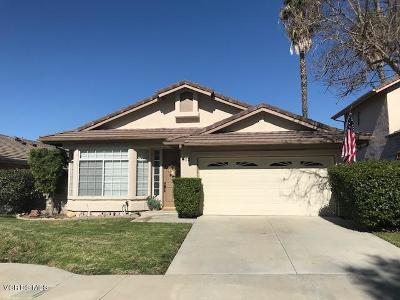 Thousand Oaks Single Family Home Active Under Contract: 552 Timberwood Avenue