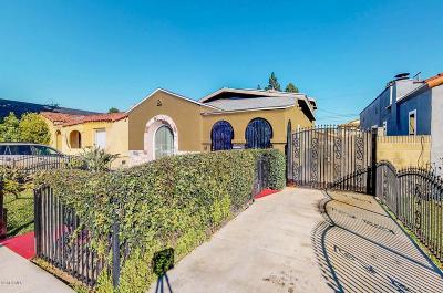 Long Beach Single Family Home For Sale: 2432 Caspian Avenue