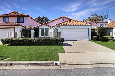Simi Valley Single Family Home For Sale: 851 Congressional Road